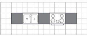 طراحی آشپزخانه مدل ديواري